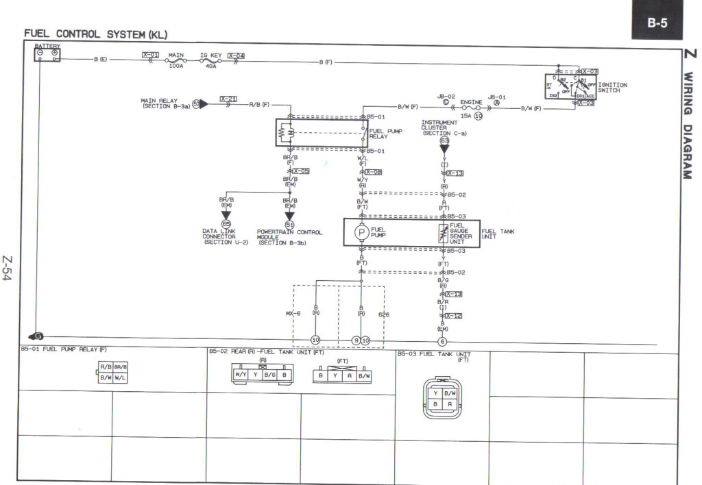 img 321009 1 Z 54 wiring short, can't find wire! 1993 2002 (2 5l) v6 mazda626 1997 mazda 626 wiring diagram at crackthecode.co
