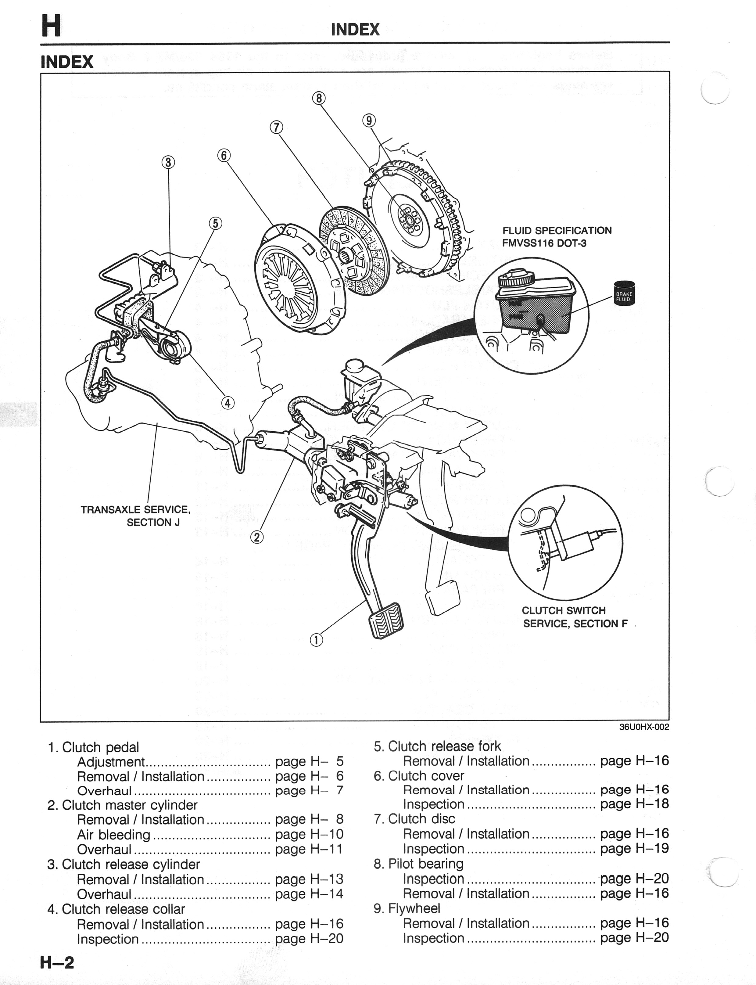 1994 toyota 4runner clutch pedal parts diagram  toyota