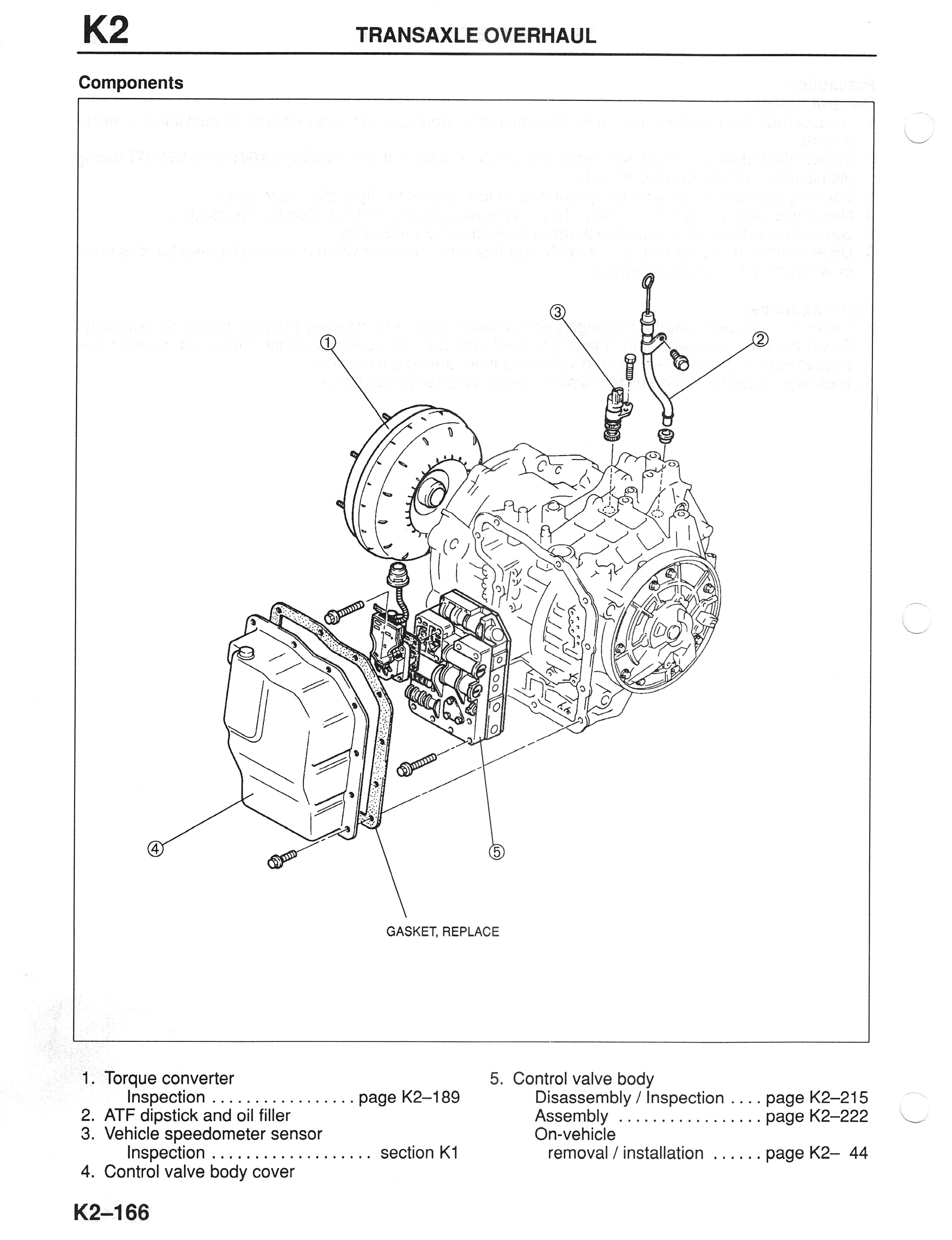 The Oil Filter (Transmission Fluid Filter) is labeled as #15 in the below  diagram.