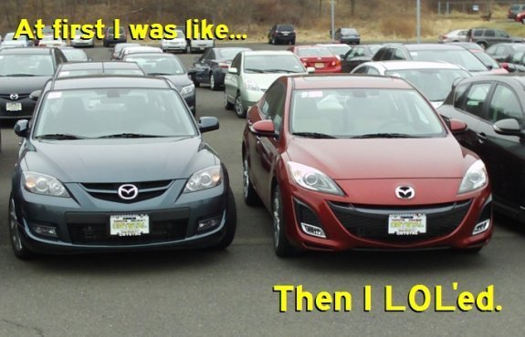 Hilarity Of The New 2010 Mazda 3 - General Chat (Sixers Lounge ...