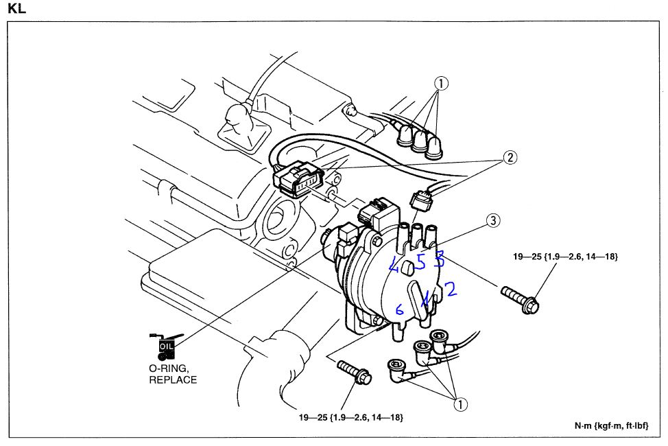 install ford telstar distributor wiring diagram