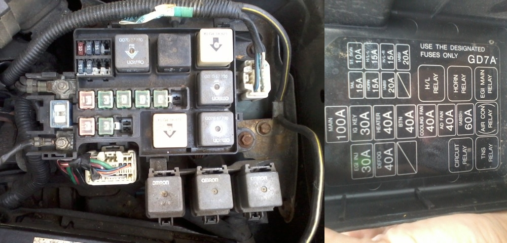 post 30827 0 41767900 1344318620 99 (2 0 4 cyl) cooling fan not working 1993 2002 (2l) i4 mazda 626 fuse box at mifinder.co
