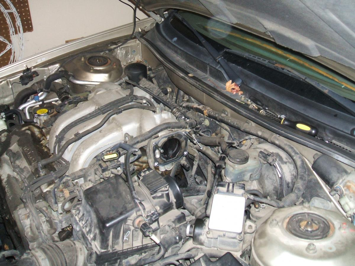 Throttle Body Cleaning (1993-2002 V6) - Tutorials & How To
