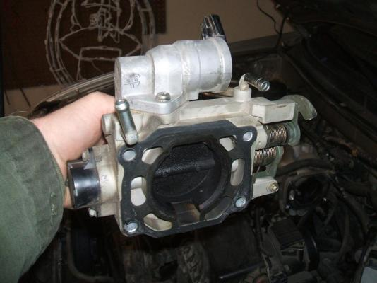 how to clean throttle body cx5 mazda