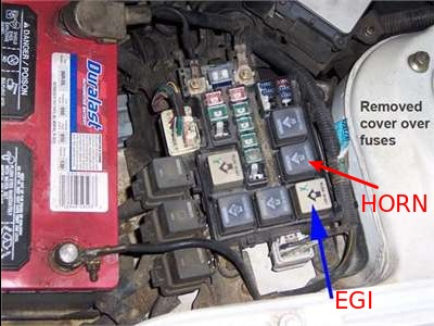 horn stopped working 1993 2002 (2l) i4 mazda626 net forums fuse box cover share this post